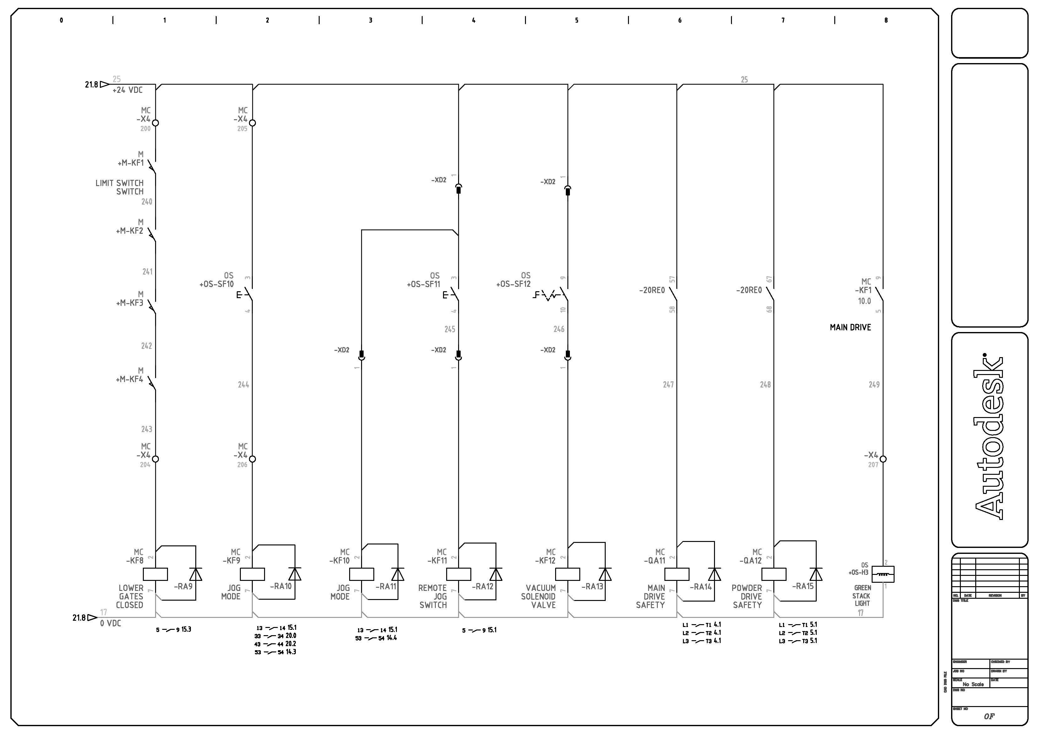 Schema Elettrico Quadro : Edrawing consulenza sviluppo e stesura di schemi
